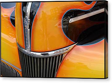 Oh That V8 Smile Canvas Print