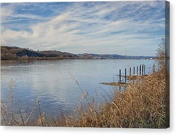 Ohio River Valley Canvas Print by Diana Boyd