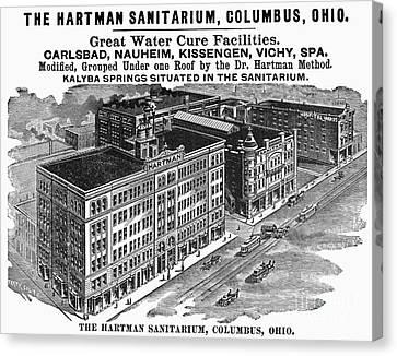 Ohio: Sanitarium, 1901 Canvas Print by Granger
