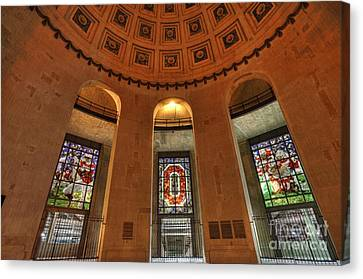 Entrances Canvas Print - Ohio Stadium by David Bearden
