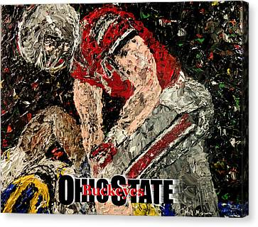 Ohio State Buckeyes  Canvas Print by Mark Moore