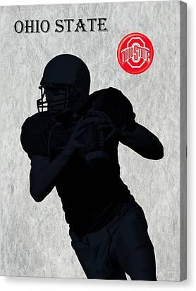Ohio State Football Canvas Print by David Dehner