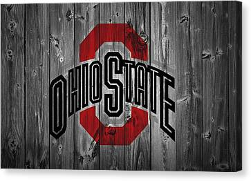 Living-room Canvas Print - Ohio State University by Dan Sproul