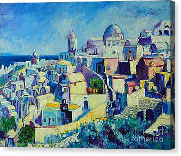 OIA Canvas Print by Ana Maria Edulescu