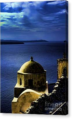 Oia Greece Canvas Print