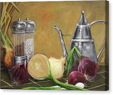 Oil Can Still Life Canvas Print