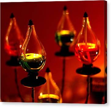 Oil Lamp Canvas Print - Oil Lamps by Harold Bonacquist