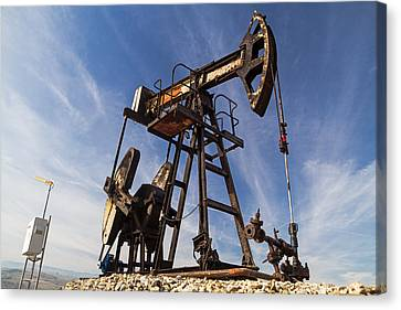 Oil Well  Canvas Print