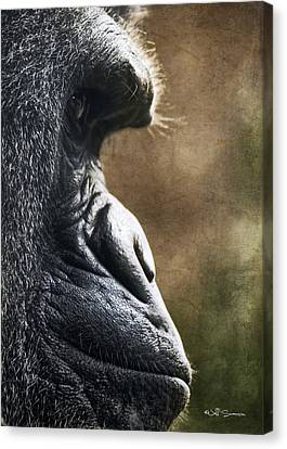 Henry Doorly Zoo Canvas Print - Ok I'll Smile by Jeff Swanson