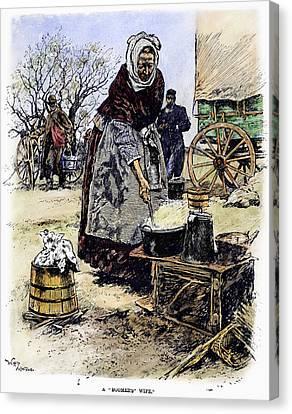 Oklahoma Boomer, 1889 Canvas Print
