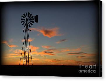 Canvas Print featuring the photograph Oklahoma Skies 1 by Jim McCain