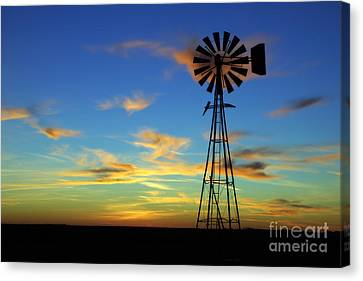 Canvas Print featuring the photograph Oklahoma Skies 2 by Jim McCain