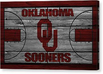 Oklahoma Sooners Canvas Print by Joe Hamilton