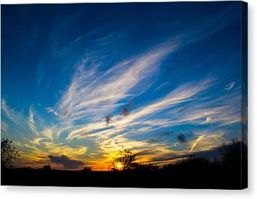 Oklahoma Sunset Canvas Print
