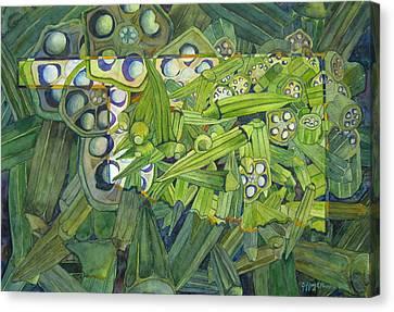 Okrahoma Canvas Print by Jeffrey S Perrine