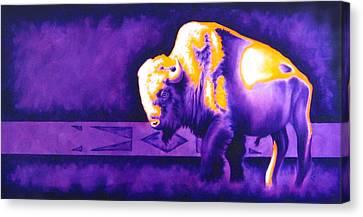 Ol' Bull Canvas Print by Robert Martinez