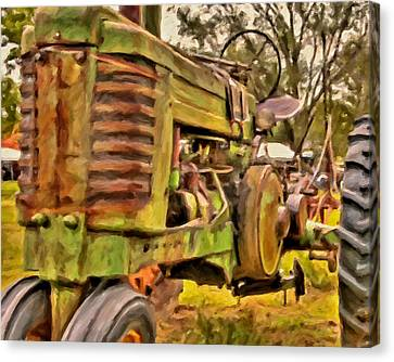 Ol' John Deere Canvas Print by Michael Pickett