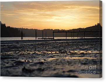 Ol' Ship Dock 2 Canvas Print by Sheldon Blackwell