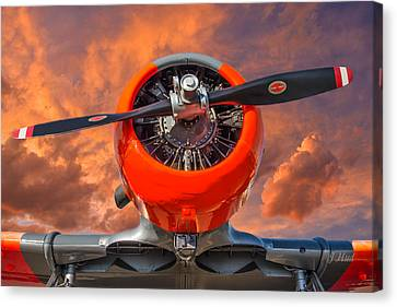 Ol' Thunder Canvas Print by Joe Hudspeth