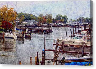 Canvas Print featuring the photograph Olcott by Tammy Espino