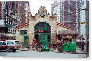Worker Canvas Print - Old 72nd Street Station - New York City by Daniel Hagerman