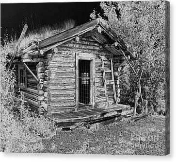 Old Abandoned Cabin Canvas Print by Tlynn Brentnall