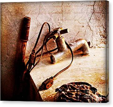 Old Abandoned Tap Canvas Print by Prajakta P