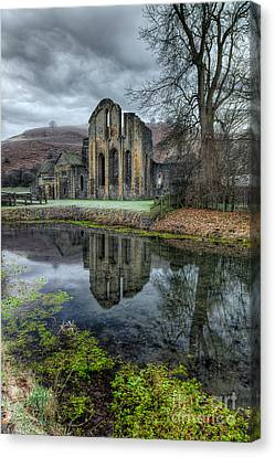 Old Abbey Canvas Print by Adrian Evans