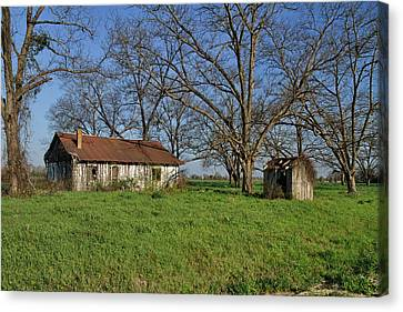 Old And Forgotten Canvas Print by Kim Hojnacki