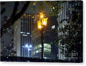 Luz Canvas Print - Old And New Lamp Posts - Paulista Avenue by Carlos Alkmin