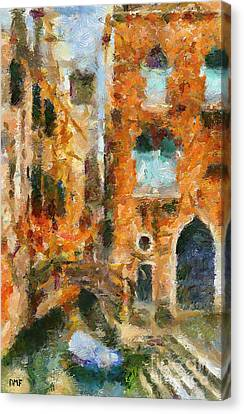 Old And New No2 Canvas Print by Dragica  Micki Fortuna