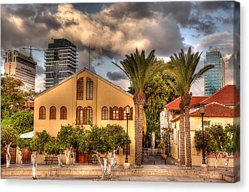 Old And New Canvas Print by Uri Baruch