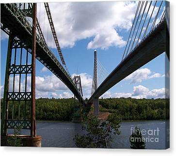 Old And New Canvas Print by Ursula Lawrence