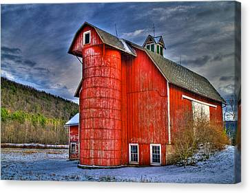 Old And Rugged Canvas Print by David Simons
