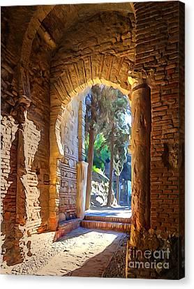 Old Archway Canvas Print by Lutz Baar