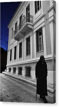 Old Athens Canvas Print by Stellina Giannitsi