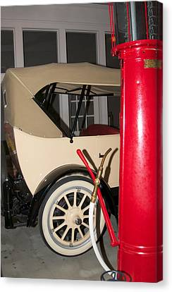 Canvas Print featuring the photograph Old Automobile by Bob Pardue