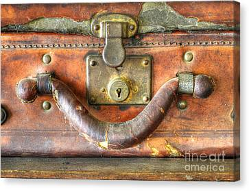 Old Baggage Canvas Print by Bob Christopher