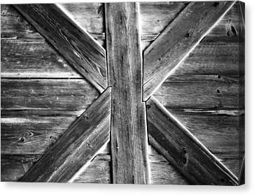 Old Barn Door Canvas Print