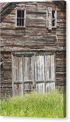 Maine Barns Canvas Print - Old Barn In Maine by Keith Webber Jr