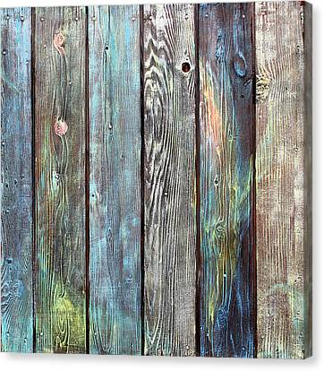Old Barnyard Gate Canvas Print by Asha Carolyn Young