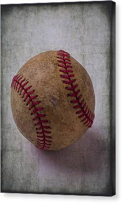 Old Baseball Canvas Print