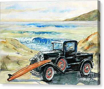 Old Beach Buggy Canvas Print