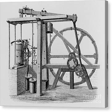 Old Bess Steam Engine Canvas Print by SPL and Science Source