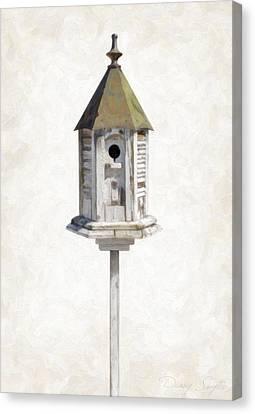 Old Birdhouse Canvas Print by Danny Smythe