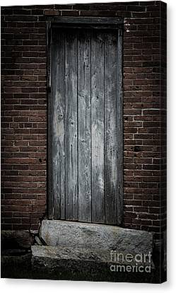 Old Blacksmith Shop Door Canvas Print