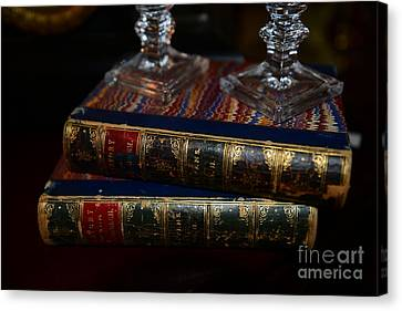 Old Books Canvas Print by Paul Ward