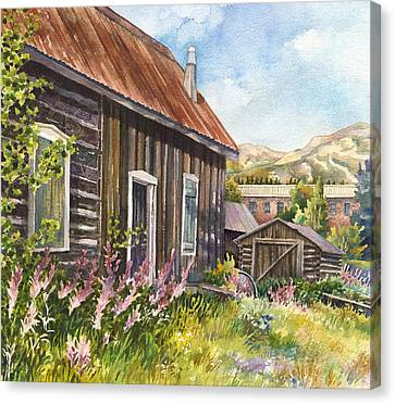 Old Breckenridge Canvas Print by Anne Gifford
