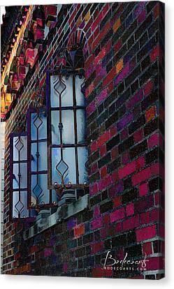 Old Brick Renewed Canvas Print