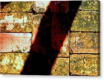Old Brick Road Canvas Print by William Tucker